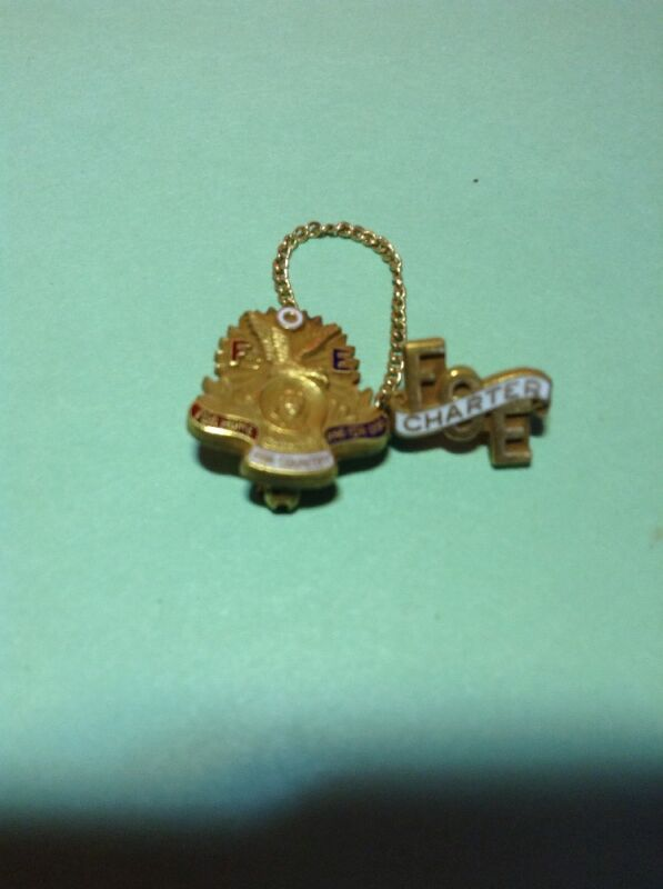 Fraternal Order of Eagles Charter Pin