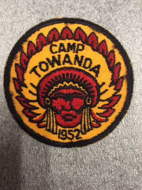 BSA Camp Towanda 1952