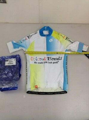 4756-12 Champion System Graham Watson Mens Cycling Jersey Size Medium M