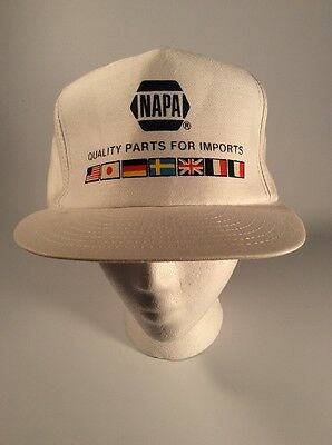 Napa Auto Parts  Vintage  1980S  Hat  Import Parts