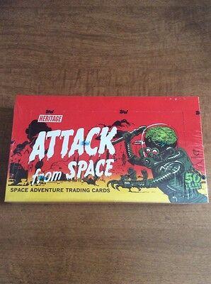 2012 Heritage Mars Attacks 50th Anniversary Factory Sealed Box