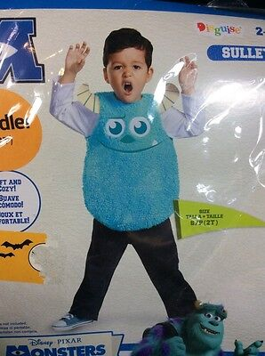 Monsters University Sulley Costume 2T Small Disguise Halloween Dress Up (Monsters University Halloween Costumes Toddler)