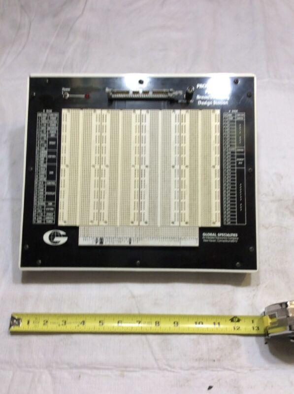 GLOBAL SPECIALTIES Proto-Board PB-88/4 Breadboarding Design Station 1252A