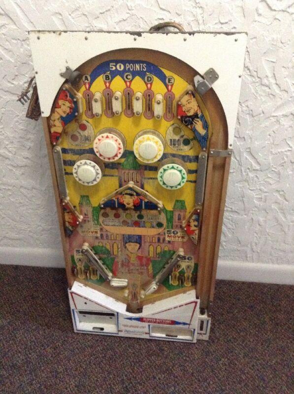 vintage Pinball Playfield