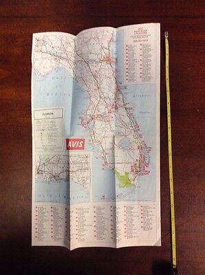 1980 Mini Map Of Florida And Sarasota Close Up Rand Mcnally Oldpapermaps Com