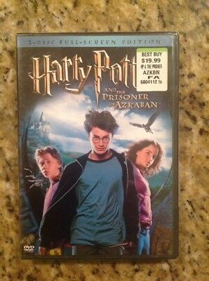 Harry Potter and the Prisoner of Azkaban (DVD,2004,2-Disc,Full Screen)NEW
