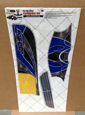 - AMR Graphic Kit Decal SALE - KG  Evo Stillo - Acceleration/Blue