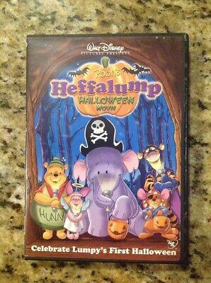 oween Movie (DVD) Authentic Disney US (Heffalump Halloween)