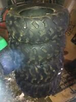 4 - wheeler tires