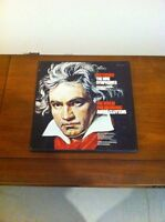 Beethoven's Nine Symphonies Pristine Condition 7 Vinyl Records
