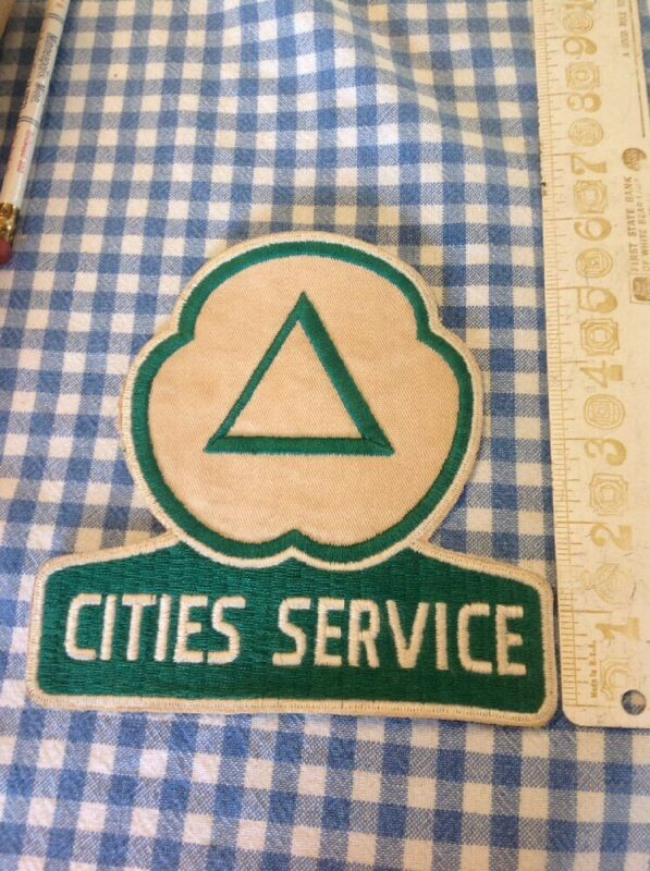 Cities Service Patch Oil Advertising 1950