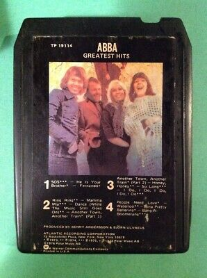 ABBA Greatest Hits  TP 19114  8 Track Tape