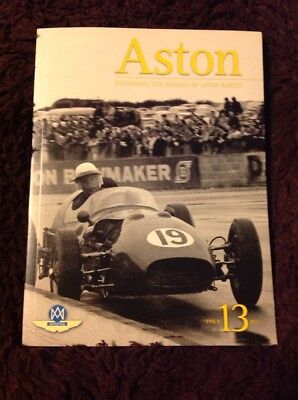 Aston recording the history of Aston Martin. issue 13. 2011