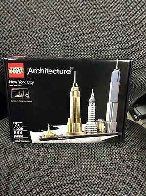100% Genuine Brand New Sealed LEGO Architecture New York City 21028