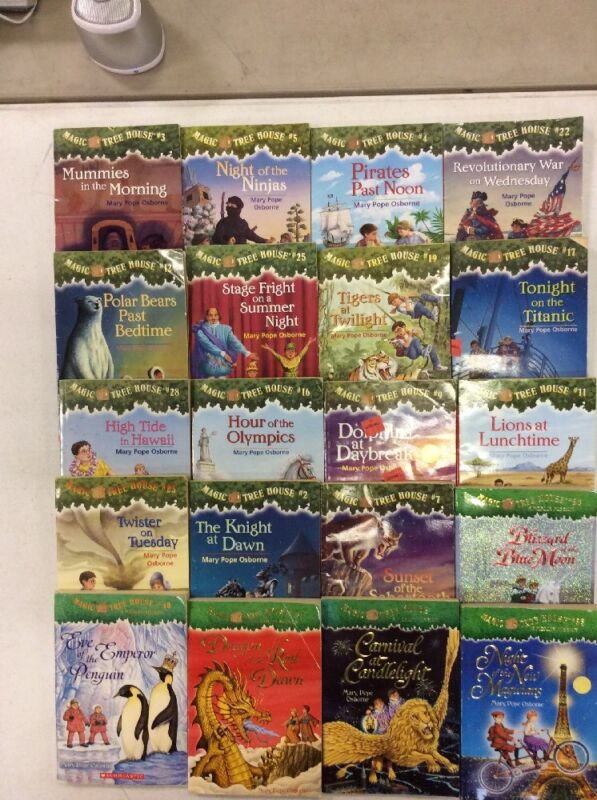 10 Magic Tree House Books for $15 and Free Shipping! H-2
