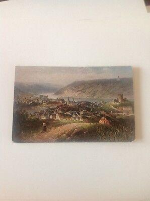 Postcard Old Undated Bingen