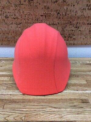 Hip Headz Orange Soft Helmet Cover For Bicycle Hard Hat Construction Helmets A5
