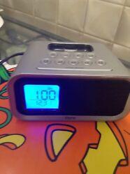 iHome iH22 Alarm Clock Docking Station for Apple iPhone Old Gen Charging Unit