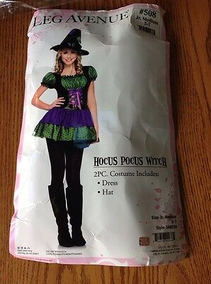 Hocus Pocus Witch Juniors Halloween Costume, Medium](Halloween Costumes Hocus Pocus)