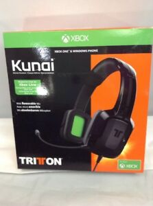 TRITTON Kunai 3.5 Stereo Headset - Xbox One & Windows Phone Device RACK#9