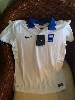 Nike Greece 2014/2015 NWT $75 Soccer Jersey/shirt  Football Size XL Youth Unisex image