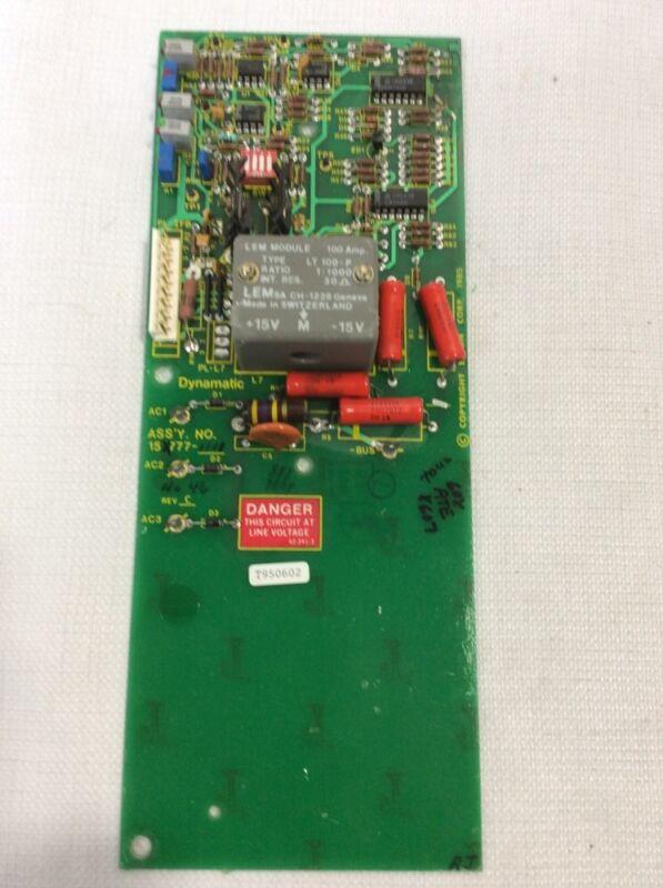 EATON 15-777-1111 DYNAMATIC FEEDBACK PCB CIRCUIT BOARD REV C