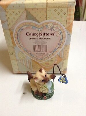 "CALICO KITTENS ""Discover Your World"" New In Box"