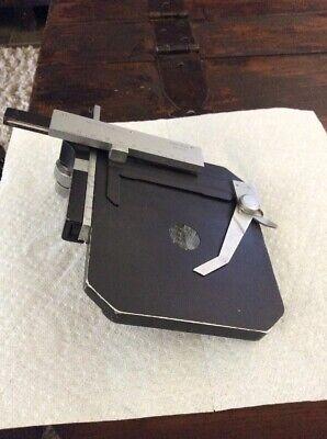 Nikon Type S Ep01 Microscope Rotating X-y Stage