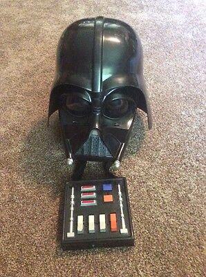 Darth Vader Voice Changer Helmet Costume Mask Star War Sith Lord Dark Side 2004 (Dark Vader Mask)