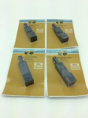 Lot of 4- Hampton Bay Linear Track Connector Conduit Power Feed 120-V (Conduit Feed Connector)