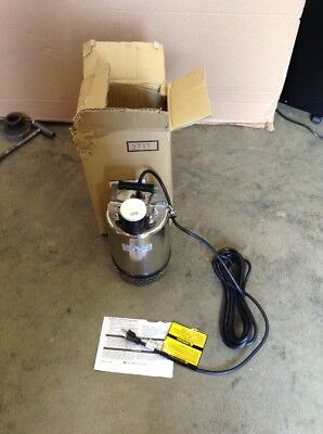Little Giant Franklin Electric Submersible Fs-750 Ss Utility Sump Pump 1 Hp