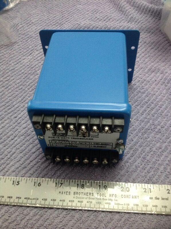 PCE-15 Watt Transducer Rochester Instrument System New No Box