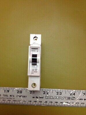 Siemens Circuit Breaker 5sx21 C20 New No Box