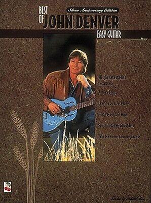 The Best of John Denver Sheet Music Easy Guitar NEW 002506879