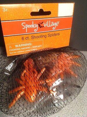 Class Halloween Party (New Shooting Spiders Halloween Party Favor Prop Lot 6, 12, 18, 24, 30 Class)