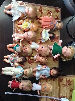 Junky Vintage Plastic And Baby Doll Lot Hong Kong Remco Udco 1966