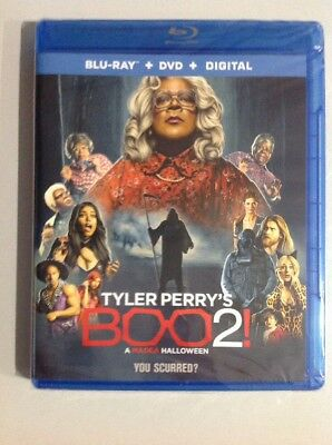 BOO 2 A Madea Halloween Movie ( Blu-Ray / DVD ) New. Read Details.A MUST - New Madea Movie Halloween