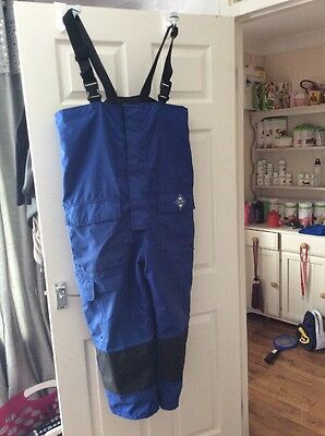 FLADEN RESCUE SYSTEM - Blue SCANDIA Flotation Bib and Brace Trousers