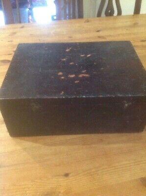 Pine Box With Dark Finish