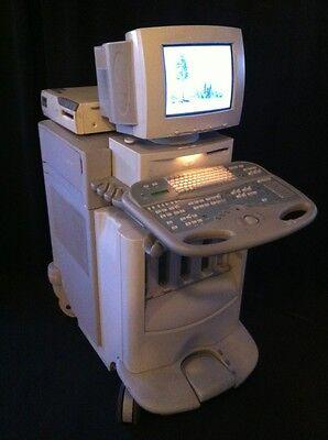 Siemens Acuson Ultrasound System Sequoia 512 Monitor Excellent Cond. 0110