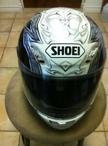 SHOEI TC-1100 HELMET IN VERY GOOD CONDITION SIZE L Windsor Region Ontario image 1