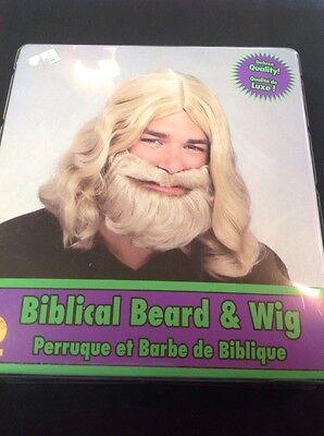Beard And Wig Set (Biblical Beard And Wig Set)