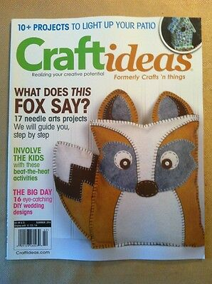 Art Craft Ideas (Craft Ideas, Summer 2014 FREE SHIPPING, 17 Needle Arts Projects, Involve The)