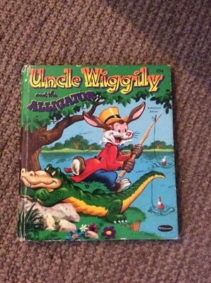 Vintage 1953 Whitman Books Uncle Wiggily and the Alligator for sale  Shipping to Canada