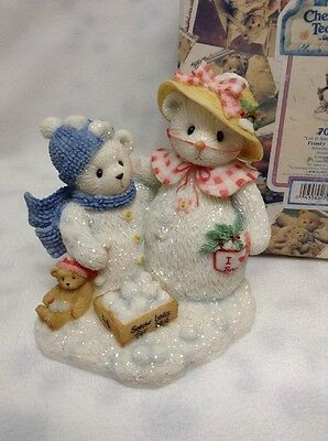 Cherished Teddies Frosty And Aurora - Let It Snow, Let It Snow  - #706884