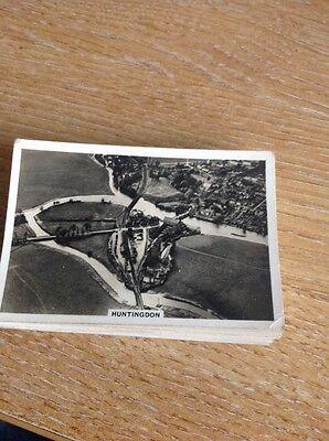 Cigarette Card Senior Service Britain From The Air Huntingdon No 12  b1s