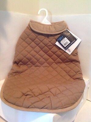 Dog Gone Smart Quilted Jacket for Dogs  24-Inch  Khaki Dog Gone Smart Jacket