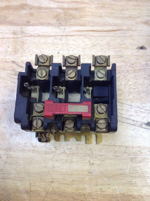 Square D Overload Relay Class 9065 Type SEO-5 Series A
