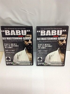 Babu BJJ Mastermind 9 of 12 DVD Set - Sergio Gasparelli Ground Fighting