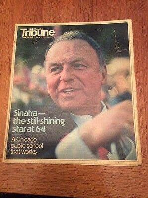 Frank Sinatra Chicago Tribune June 1  1980